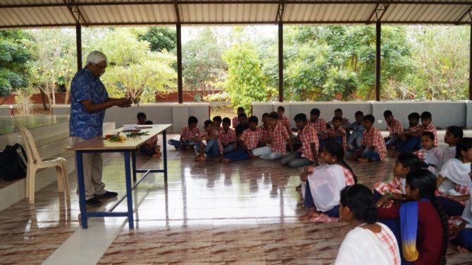 Workshop by Mr. Paul