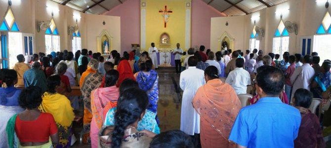 Visit from the Parish Community of Krishnagiri