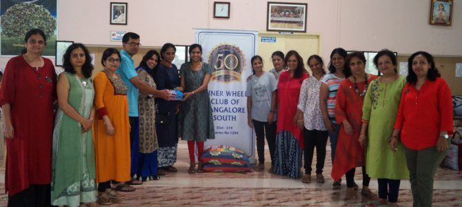 Inner Wheel Club at Snehagram