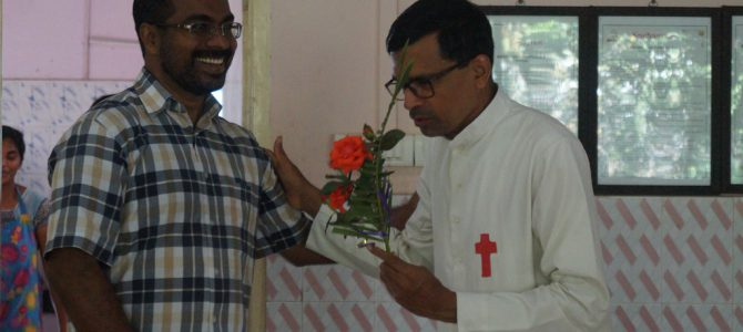 Fr. Joy's Birthday