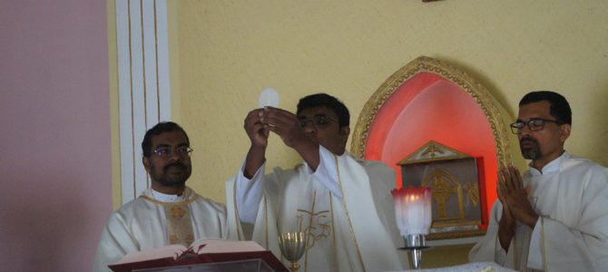 Fr. Tinto's First Holy Mass