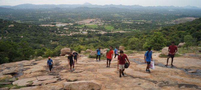 Trekking to the Striking Summit of the Mountain